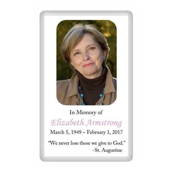 Memorial Cards and Thank You Cards Top Memorial – Obituary Cards Templates